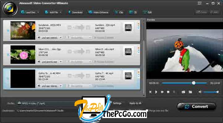 Aiseesoft Total Video Converter 9 full version download thepcgo