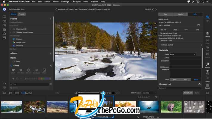 ON1 Photo RAW 2020 14 free download thepcgo
