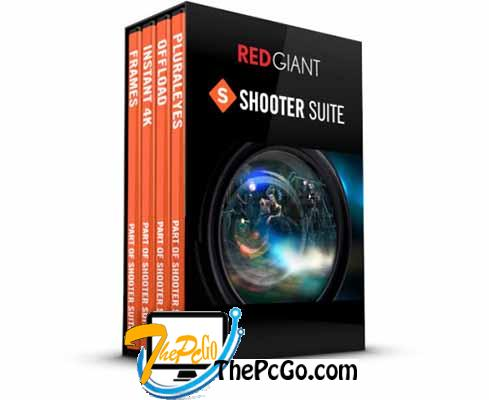 Red Giant Shooter Suite 13 full version download thepcgo