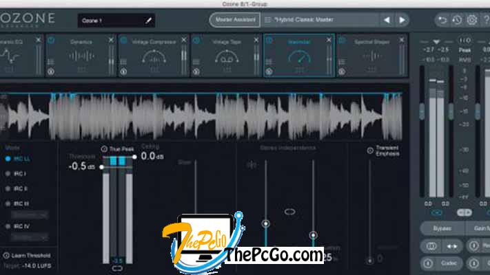iZotope Ozone Advanced 9 full version download thepcgo
