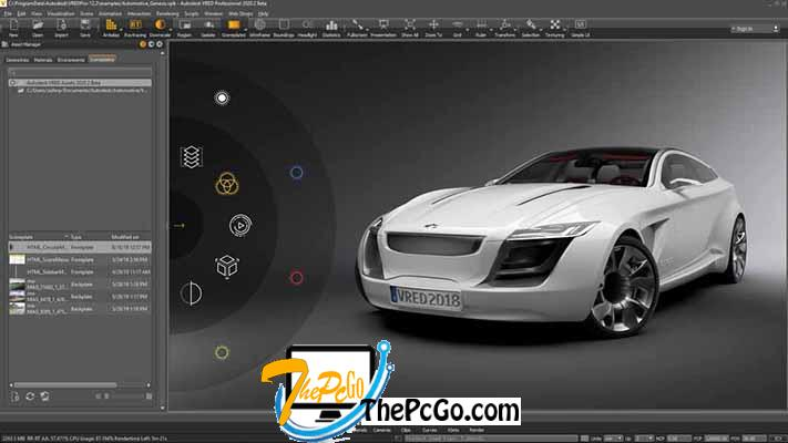 Autodesk VRED Professional 2020 free download thepcgo